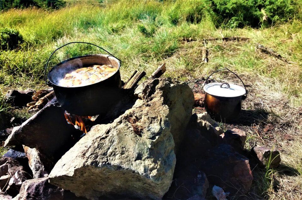 Харчування в горах.