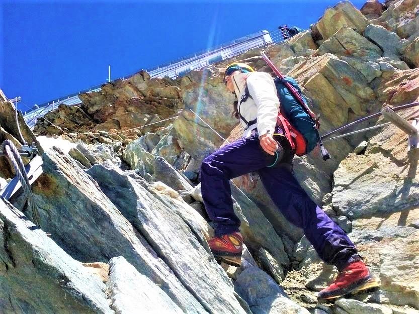 Вибір взуття для високих гір.